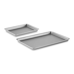 Calphalon - Calphalon Nonstick Brownie Pan & Baking Sheet Set - This convenient set includes two of Calphalon's most popular pans, and is ideal for making a wide variety of baked goods, including cookies, brownies, cakes and more.