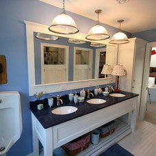 Beach Style Bathroom by Cottage Home, Inc.