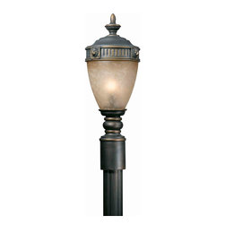 Triarch International - Triarch 75235-14 Lion Oil Rubbed Bronze Outdoor Post Light - Triarch 75235-14 Lion Oil Rubbed Bronze Outdoor Post Light