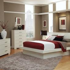 Modern Platform Beds by Sister Furniture