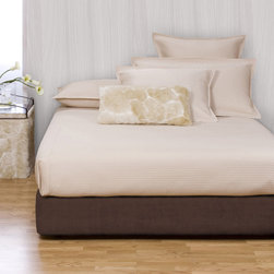None - Wood Platform Kit with Chocolate Box Spring Cover - Convert a basic box spring into a platform bed using HECs box spring slip-cover and frame support. The textured chocolate brown cover provides the perfect base for your bedding and will complement any modern bedroom decor.
