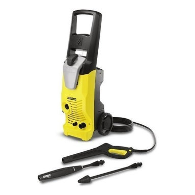 "Karcher North America - 1800Psi Pressure Washer Electric - Equipped with two spray wands, one spray wand  increases the effective pressure by up to 50 percent; the second wand allows you to adjust the pressure right on the wand. Equipped with an on board detergent tank, upright, ergonomic design, easy to maneuver  , takes up very little storage space; able to draw water from a standing source. Specs: operating pressure 1800 PSI, 120V/60 Hz induction motor, water volume 1.5 GPM, direct-drive axial pump, maximum water inlet temp 104 degrees F, weight (w/o accessories  ) 33 lbs, dimensions  11"" L x 11"" W x 34"" H. Includes: bayonet trigger gun with child safety lock, (VPS) vario power spray wand, DirtBlaster spray wand, 25 ft. high pressure hose, detergent tank, integrated hose, trigger gun and spray wand   holder.        This item cannot be shipped to APO/FPO addresses.  Please accept our apologies"