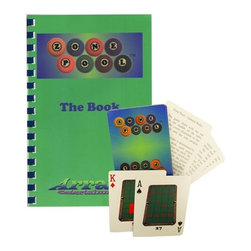 """Sterling Gaming - """"Zone Pool"""" Card Game Set - Special deck of playing cards. Cards have a diagram of a pool table with a pocket and a zone indicated. Ball is placed in front of the indicated pocket. Player must sink the ball and make the cue ball stop in the indicated zone. Rules for three games, five drills, ten workouts and even an instructional section are included. Weight: 0.5 lbs."""