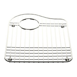 KOHLER - KOHLER K-6016L-ST Hartland Bottom Basin Rack in Stainless Steel - KOHLER K-6016L-ST Hartland Bottom Basin Rack in Stainless SteelGet the most from your Hartland double-basin kitchen sink.  This bottom basin rack is designed to fit neatly into the left basin bottom of Hartland sinks, creating a workstation for quick and easy tasks.KOHLER K-6016L-ST Hartland Bottom Basin Rack in Stainless Steel, Features:• Create a workstation for quick and easy sink tasks