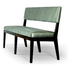 contemporary dining chairs and benches by Dennis Miller Associates