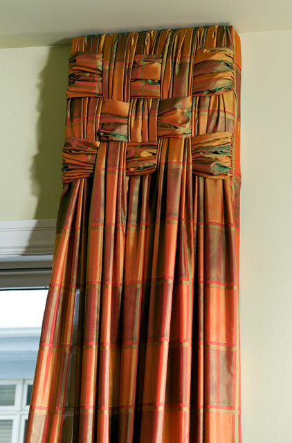 Modern Curtains by Interiors by Mary Susan