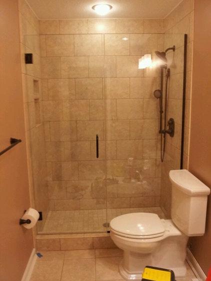 Modern Showers by Cincinnati Glass Contractors llc
