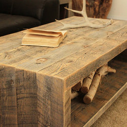 Reclaimed Wood Coffee Table - Coffee Table (Telluride Collection)