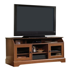Sauder - Sauder Graham Hill TV Stand in Autumn Maple - Sauder - TV Stands - 408952 -