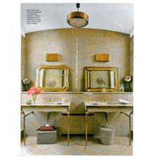 Contemporary Bathroom Sinks by Jane Antonacci Interior Design