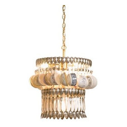 Teacup Chandelier - This chandelier is bound to spark conversation, for sure.