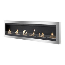 IGNIS - Ignis Vent less Bio Ethanol Fireplace Maximum With Safety Glass - *Design Patent Pending - 29/469,481