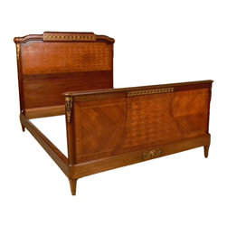 1930 Louis XVI Styled Queen Sized French Bed - 1930 Louis XVI Styled Queen Sized French Bed