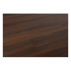 Vesdura - Vesdura Vinyl Planks - 4.2mm Click Lock Appalachian Collection - [15.1 sq ft/box] - Smokey Walnut -    The look of square-edge wood grain planks are meticulously reproduced in this 21st century modern Vesdura 4.2mm Click Lock Wood Grain Vinyl Plank Flooring Series.     The details you're looking for in a wood floor are rendered by way of a modern process that also reproduces the look and feel of hand-scraped wood surfaces. These selections of vinyl plank flooring are an innovative solution you can count on to bring all kinds of spaces to life; living areas, kitchens, halls, family rooms, bedrooms and beyond.    Modern vinyl plank flooring designed to endure    The individual boards in each selection of Vesdura 4.2mm Click Lock Wood Grain Vinyl Plank Flooring are designed to endure for the long-term, thanks to a state-of-the-art fiberglass core, and a glueless Unilin-licensed locking system.     This is not to mention how easy to care for these vinyl plank floors are. They are moisture-resistant, and protected by a UV and abrasion resistant wear layer to guard against fading and scratching.    Vinyl plank flooring that looks like wood floors _ and feels like them, too    Because of the sturdiness of the boards, the feel of walking on them after they're installed is very much like walking on a solid wood surface. Matched with an attention to detail that appeals to the eye, it's this subtlety of design that adds to the overall convincing effect that makes for a true, stylish transformation in nearly any space.