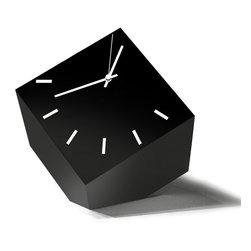 Modo Bath - Tothora Box 20 Black Table Clock - Box 20 Black Table Clock