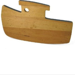 J.K. Adams Tugboat Maple Cutting Board - I'd have a hard time putting this cute cutting board away in a drawer — its tugboat design begs to be out on display. J.K Adams has been making wooden cutting boards and kitchen tools like these up in Vermont since 1944.