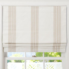 Traditional Roman Blinds by Pottery Barn