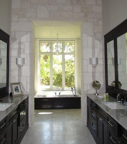 Traditional Bathroom by Alison Mountain Interior Design