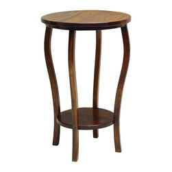 Patagonia Legacy - Tulipan Side Table EC771 - This table has a Flower inlay.