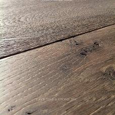 Mediterranean Hardwood Flooring by Pavé Tile, Wood & Stone, Inc.