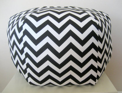 Modern Floor Pillows And Poufs by Etsy
