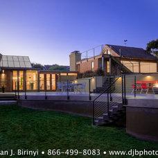 Contemporary Exterior by Dean J. Birinyi Photography
