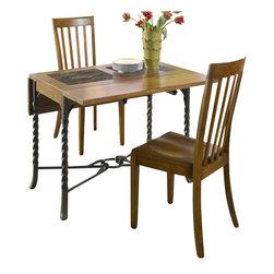 Riverside Furniture - Riverside Furniture Medley 3 Piece Drop Leaf Dining Table Set - Riverside Furniture - Dinette Sets - 4501828035x45PCPKG