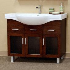 "Bathroom Vanities And Sink Consoles BellaTerra Home 203139 - 39"" Estelle Single Bathroom Vanity"
