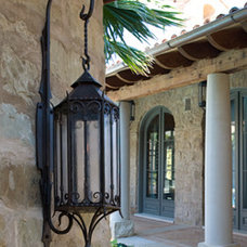 mediterranean lighting by Potter Art Metal Studios