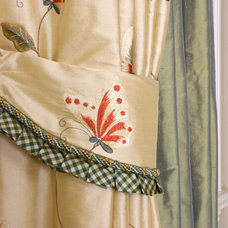 Traditional Curtains by Gailani Designs Inc,