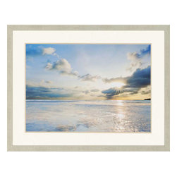 Paragon - Taylor Bay - Framed Art - Each product is custom made upon order so there might be small variations from the picture displayed. No two pieces are exactly alike.