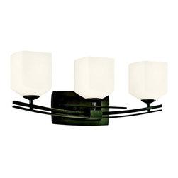 "Kichler - Kichler 45263AVI Brinbourne 24"" Wide 3-Bulb Bathroom Lighting Fixture - Product Features:"