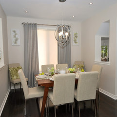 contemporary dining room by 3sixty Space Planning + Design Inc.
