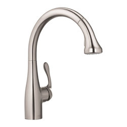 Hansgrohe - Hansgrohe 04066860 Steel Optik Allegro E Gourmet Pull-Down Spray Kitchen Faucet - Product characteristics