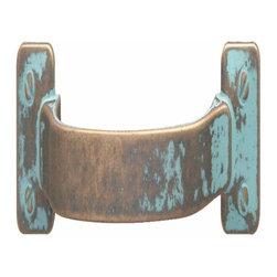 Hafele - Hafele: Handle: Zinc: Rustic Copper: M4: Center To Center 96mm - Hafele: Handle: Zinc: Rustic Copper: : Center To Center 96mm