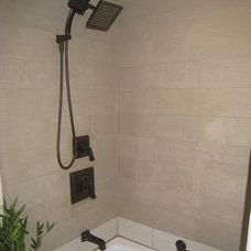 Traditional Bathroom by Space Craft, LLC