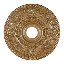 uDecor - MD-5071-C6 Ceiling Medallion - Ceiling medallions and domes are manufactured with a dense architectural polyurethane compound (not Styrofoam) that allows it to be semi-flexible and 100% waterproof. This material is delivered pre-primed for paint. It is installed with architectural adhesive and/or finish nails. It can also be finished with caulk, spackle and your choice of paint, just like wood or MDF. A major advantage of polyurethane is that it will not expand, constrict or warp over time with changes in temperature or humidity. It's safe to install in rooms with the presence of moisture like bathrooms and kitchens. This product will not encourage the growth of mold or mildew, and it will never rot.