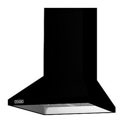 """Viking 3 Series 30"""" Chimney Wall Hood, Black 