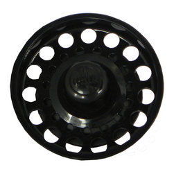 Opella - Opella 540600 Basket for Basket Strainer in Black - Opella offers a full line of colored basket strainers and disposal flanges, including replacement parts. For quality kitchen sink replacement baskets and disposal stoppers look to Opella  Drain (1)