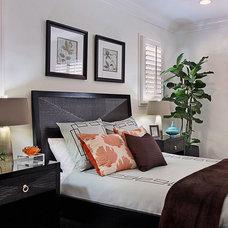 Contemporary Bedroom by International Custom Designs