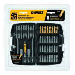 Dewalt - 37 Pc Screwdriver Bit Set - Dewalt Dw2163 37-Piece Screwdriver Bit SetBrand: Dewalt. DEWDW2163. Hardened Steel Screwdriver BitsProduct Class: ToolsUPC: 28877478449