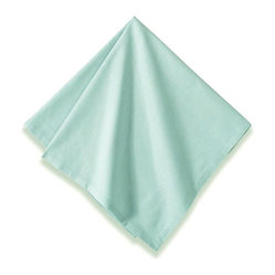 "Sonia Napkins, Powder Blue, 20""x20"""