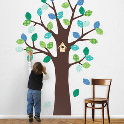 Fabric Wall Decals - Repostionable - Simple Shapes