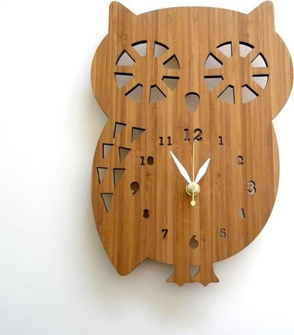 Eclectic Wall Clocks by Etsy