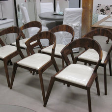 Dining Chairs Danish Inspired Mid Century Modern Solid Wood Dining Chairs