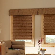 Contemporary Roman Blinds by Accent Window Fashions LLC