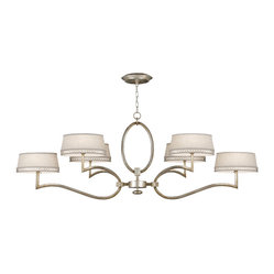 Allegretto Silver Chandelier, 780040ST