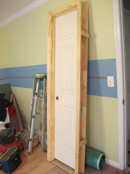 Diy how to install a door for Pre hung doors