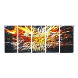 Matthew's Art Gallery - Metal Wall Art Abstract Modern Contemporary Sculpture Wall Decor First Daylight - Name: First Daylight