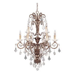 Savoy House - Savoy House 1-1398-9-256 Antoinette 9 Light Chandelier - Savoy House 1-1398-9-256 Antoinette 9 Light Chandelier